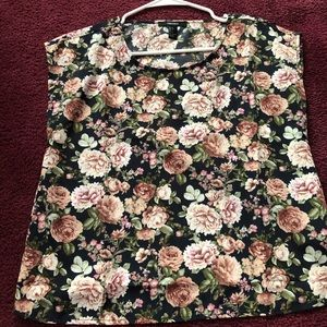 Forever 21 floral blouse size small